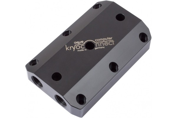 Aquacomputer kryoconnect for kryographics, width 5 Slots for 2 or 3 graphic cards