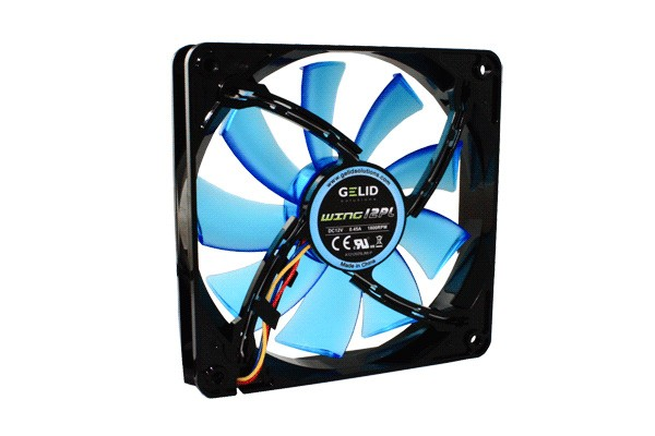 GELID Solutions Gamer Fan PWM WING 12 PL BLUE ( 120x120x25mm )