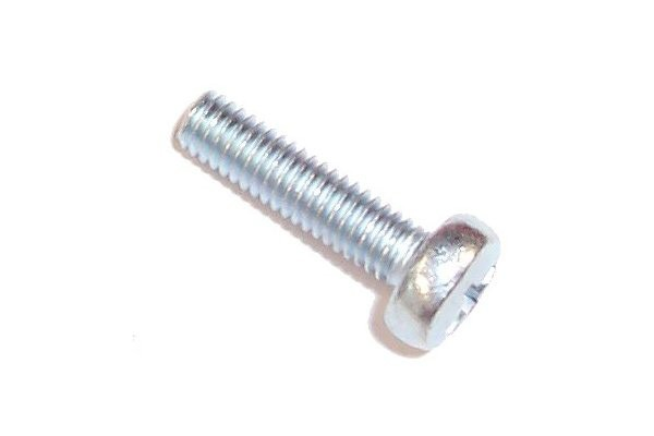 screw DIN 7985 M4 x 16 cross flat zinc coated
