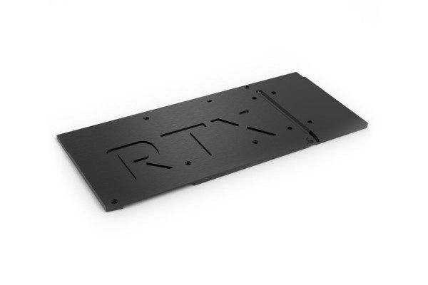 backplate for kryographics NEXT RTX 3080 Extended / RTX 3090 Extended, active XCS