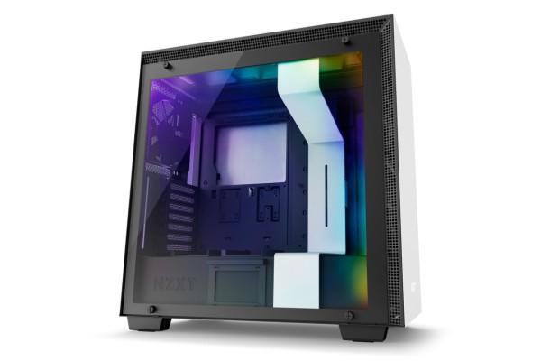 NZXT H700 Midi case - window black/white