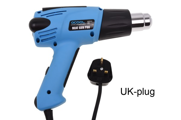 Alphacool HardTube Heat Gun Pro 2000W - UK Plug