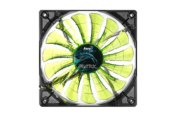 Aerocool Shark Fan Evil Green Edition - Green (120x120x25mm)