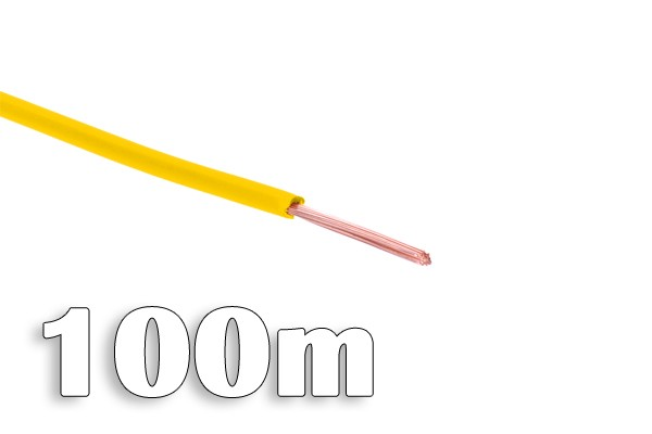 Phobya computer cable 100m - yellow