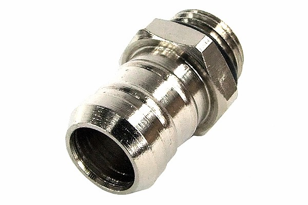 """13mm (1/2"""") barbed fitting G1/4 with O-Ring (3-Style)"""