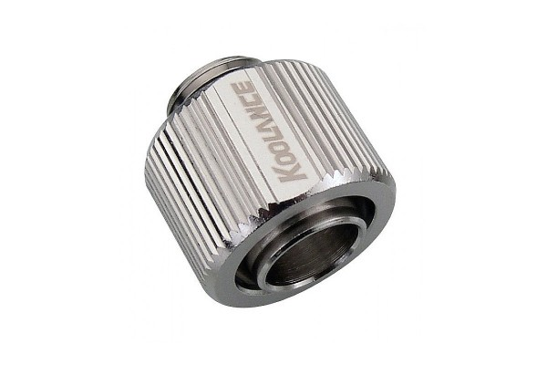 "Koolance 16/13mm (ID 1/2"" OD 5/8"") compression fitting G1/4"