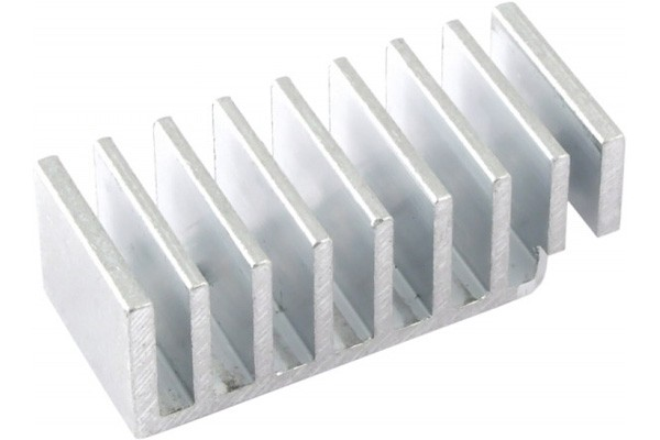 Aquacomputer Passive heat sink for aquaero 5 new version 20mm high)