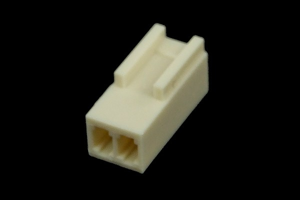 mod/smart Fan Power Connector 2Pin socket - white