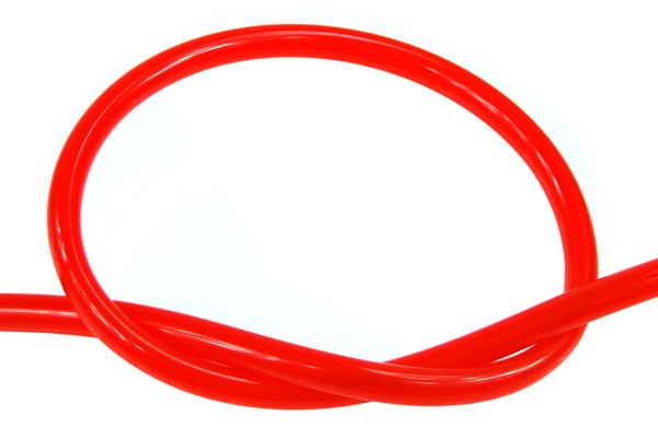 "Masterkleer tubing PVC 15,9/11,1mm (7/16""ID) UV-reactive dark Red"