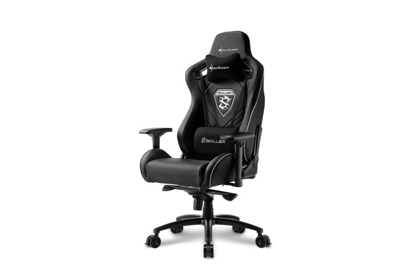 Sharkoon Skiller SGS4 gaming chair - black