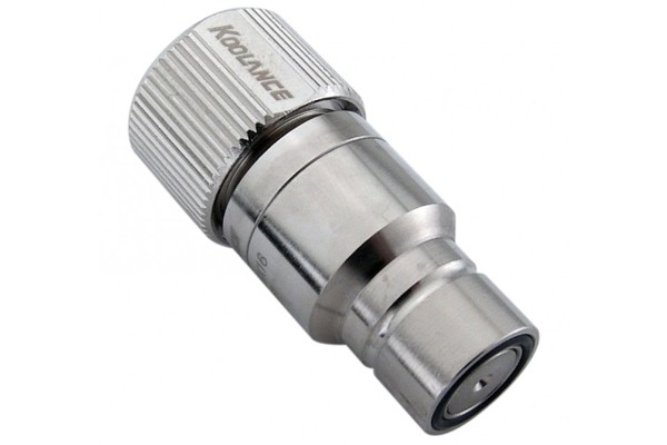 """Koolance quick release connector 16/13mm (ID 1/2"""" OD 5/8"""") male (High Flow) - QD3"""