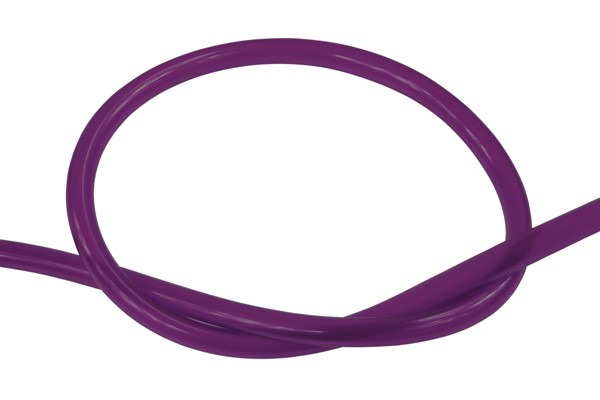 "Masterkleer tubing PVC 19/13mm (1/2""ID) UV-reactive purple"