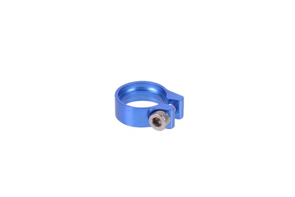 Phobya Hose clamp hexagonal 10 - 11.2mm blue