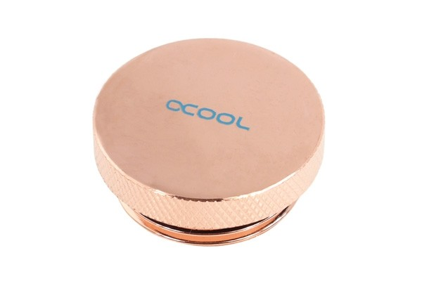 Alphacool screw plug 1 Inch - copper