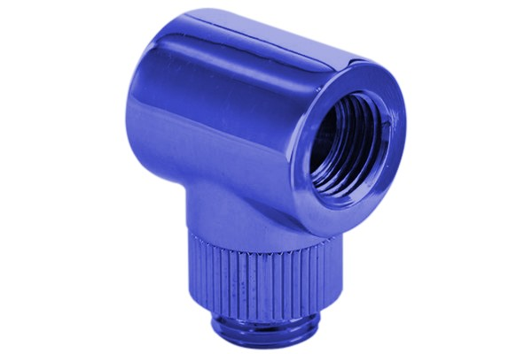 "Monsoon 19/13mm (OD 3/4"") Light Port Rotary 90° - Blue"