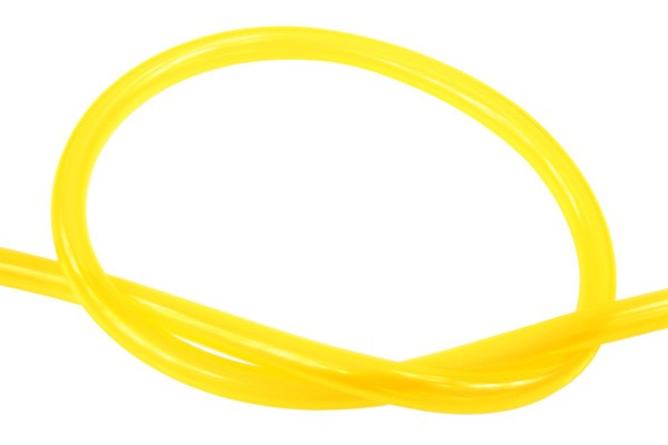 "Masterkleer tubing PVC 19/13mm (1/2""ID) UV-reactive yellow"
