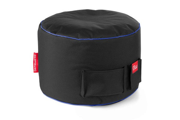 Gamewarez footrest beanbag Arctic Station (blue)