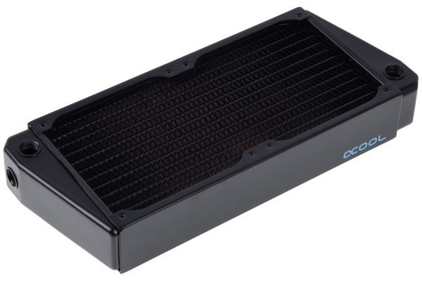 Alphacool NexXxoS XT45 Full Copper X-Flow 240mm radiator