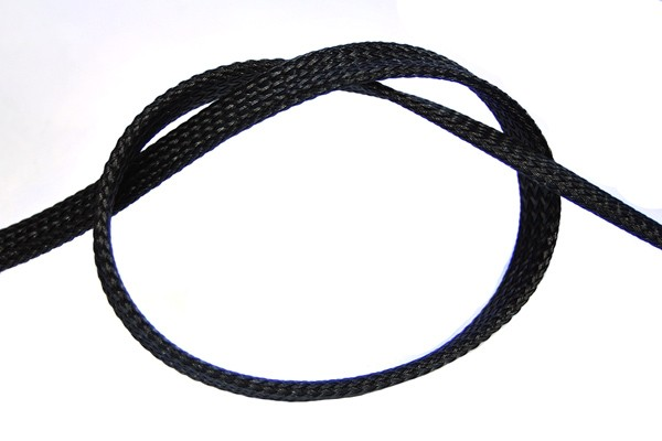 "Phobya Flex Sleeve 10mm (3/8"") black 1m"