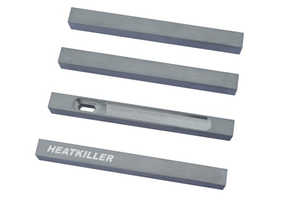 Watercool HEATKILLER® Tube - stuts 100mm - raw aluminum