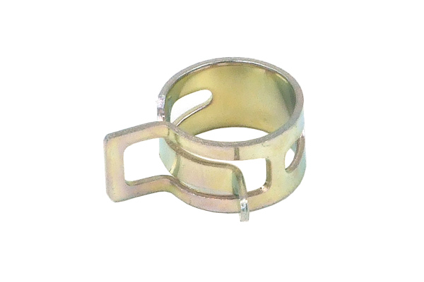 Hose clamp spring mm silver clamps tubing