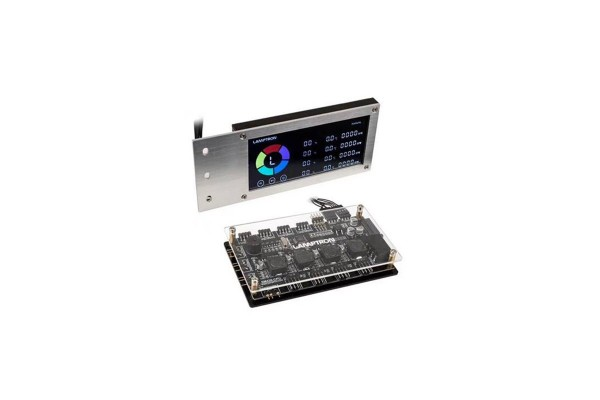 Lamptron SM436 Sync Edition PCI RGB Lüfter und LED Controller - Silber