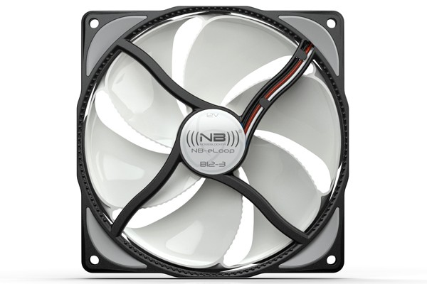 Noiseblocker NB-eLoop B12-3 Bionic fan 1900rpm ( 120x120x25mm )