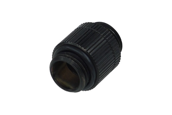 Alphacool HF double nipple G1/4'' outer thread to G1/4'' outer thread revolvable - deep black