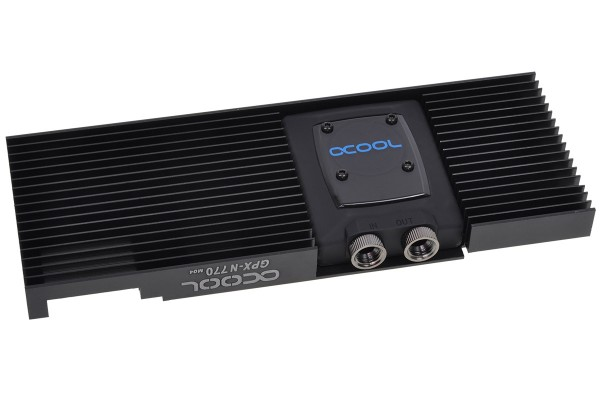 Alphacool NexXxoS GPX - Nvidia Geforce GTX 770 M04 - incl. backplate - black
