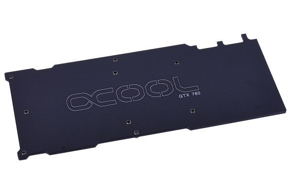 Alphacool Backplate for NVXP Nvidia GTX760 - black