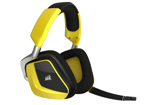 Corsair Gaming VOID Pro RGB Wireless Special Edition - yellow