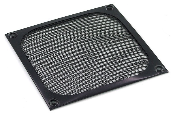 air filter 120mm color black
