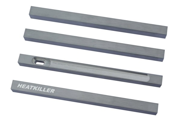Watercool HEATKILLER® Tube - stuts 150mm - raw aluminum