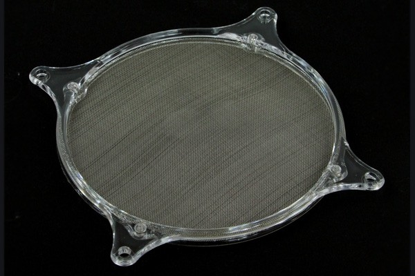 air filter Mesh 120mm frame transparent