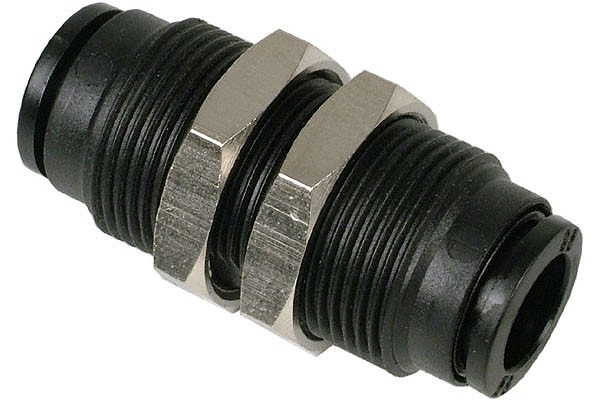 8mm channel connector black