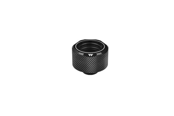 Thermaltake Pacific C-Pro HardTube compression fitting 16mm OD to G1/4 - black