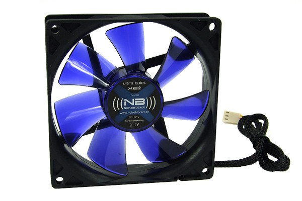 Noiseblocker NB-BlackSilent Fan XE2 Rev. 3.00 ( 92x92x25mm )