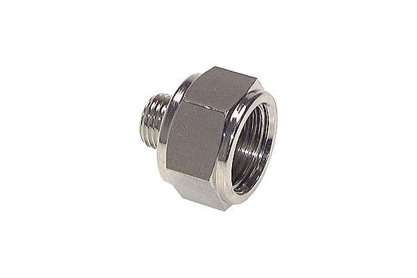 Reducing bushing M5 outer thread to G1/8 inner thread