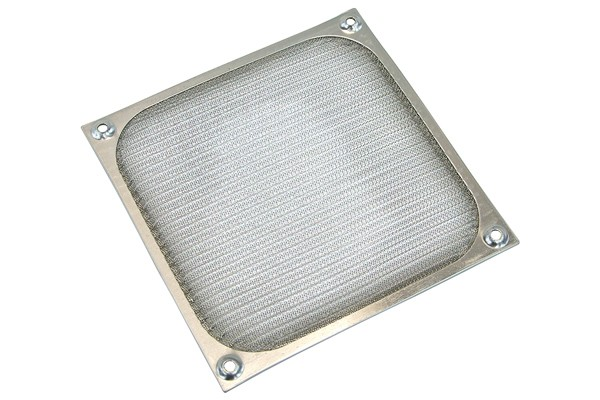 Fan filter 140mm colour silver