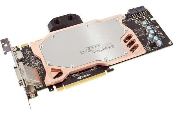 Aquacomputer graphic card GeForce GTX 980 Ti, 6 GB GDDR5 with installed kryographics for GTX 980 Ti