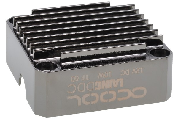 Alphacool Laing DDC metal bottom - black nickel