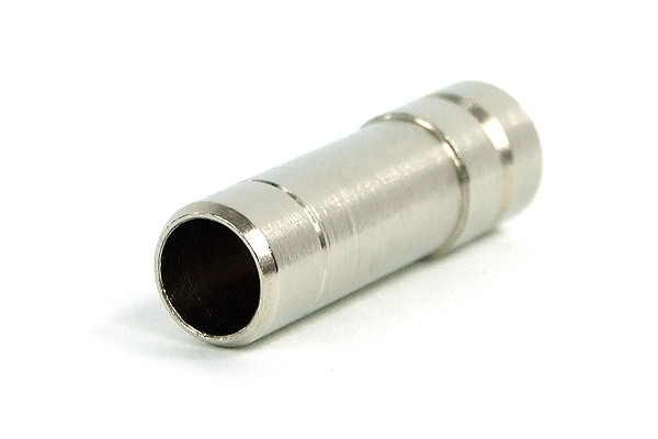 10mm (3/8') sealing plug brass nickel plated for Plug/Push In or 10mm ID tubing