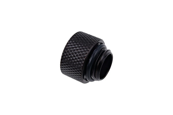 Alphacool Eiszapfen extension G1/4 outer thread to G1/4 inner thread - deep black