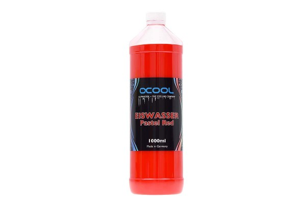 Alphacool Eiswasser Pastel Red premixed coolant 1000ml