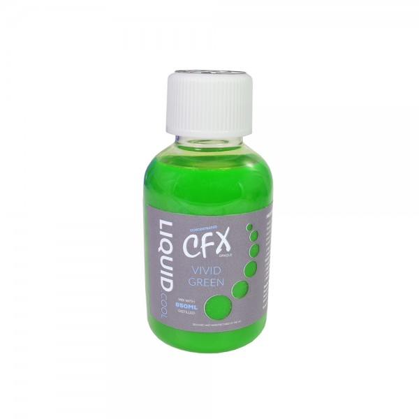 Liquid.cool CFX concentrate Opaque Performance cooling fluid - 150ml - Vivid Green