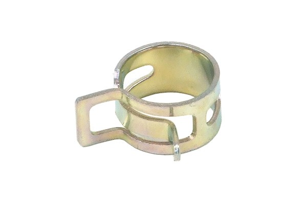 hose clamp spring 13 - 15mm silver